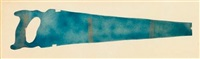 untitled (hand saw) by claes oldenburg