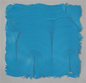 vinyl turquoise #15 by jae ko