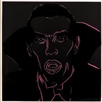 dracula (from myths) by andy warhol