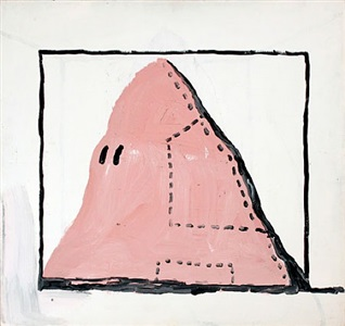 untitled hood by philip guston
