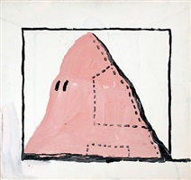 untitled (hood) by philip guston