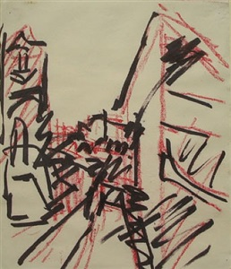 school of london. auerbach, bacon, freud, kossoff by frank auerbach