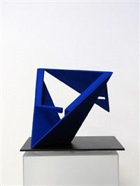 folded square alphabet a by fletcher benton