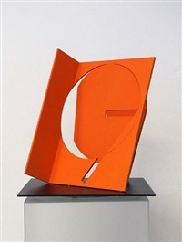 folded square numerical 7 by fletcher benton
