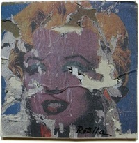 personnage by mimmo rotella