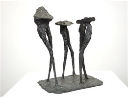 winged figures - r107 by elisabeth frink
