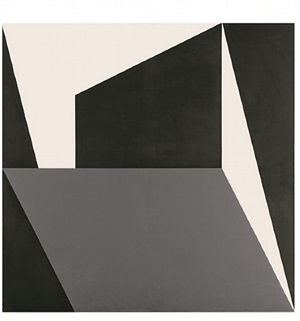 parallelogramm im quadrat / parallelogram within a square by roman clemens