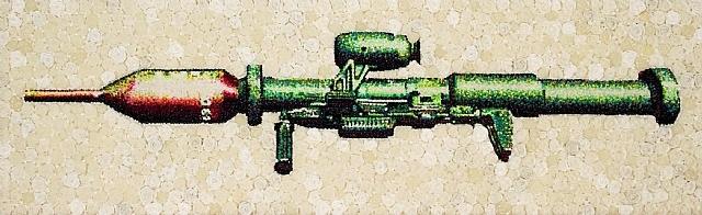 the gun in roses bazooka by lisa alonzo