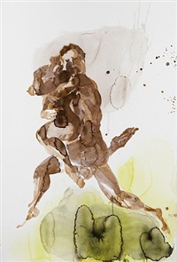 dancer suite (red couple) by eric fischl
