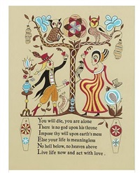 recipe for humanity (tapestry) by grayson perry