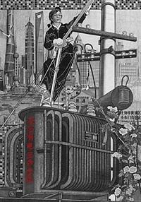 shanghai bund by qiu jie