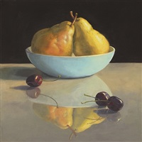 blue bowl by eileen eder
