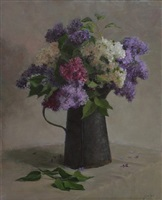 lilacs and rust by susan jositas