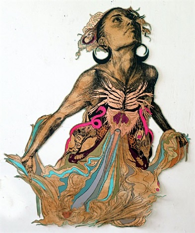 thalassa (pink seahorse) by swoon