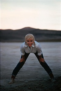 usa. nevada. us actress marilyn monroe on the set of