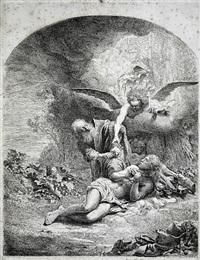 abraham's sacrifice by ferdinand bol