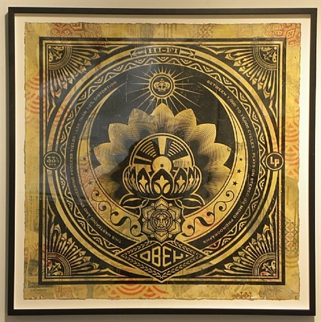 lotus large format album hpm by shepard fairey
