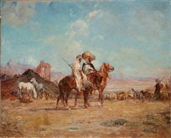 peuple de pasteurs by henri emilien rousseau