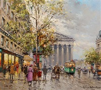 rue royal madeleine by antoine blanchard