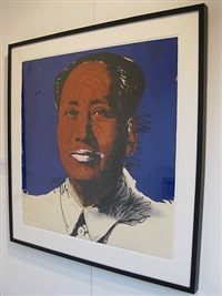mao f.s. 11.98 by andy warhol