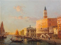doges palace, venice by antoine bouvard