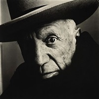 pablo picasso (b), cannes by irving penn