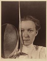 portrait of helena mayer, fencer by imogen cunningham