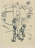 strassenbild by george grosz