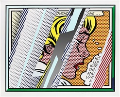 reflections on girl by roy lichtenstein