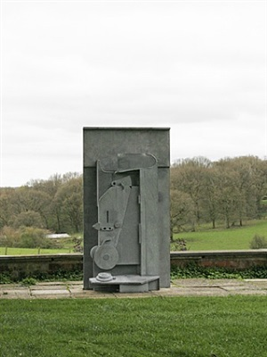 upper field by sir anthony caro