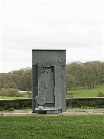 upper field by anthony caro