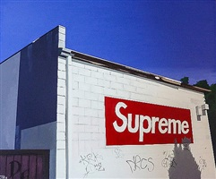 supreme wall on fairfax, la by john tierney