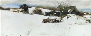 disk harrow by andrew wyeth
