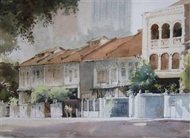 houses along neil road by ong kim seng