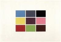 9 von 180 farben by gerhard richter