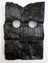 mask iii (cardboard) by peter liversidge
