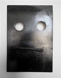 mask iv (wood) by peter liversidge