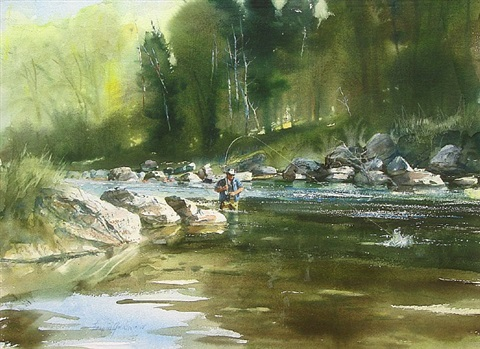 river fishing by francis golden