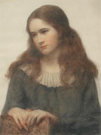 portrait of miss agnes ruddy by lilian westcott hale
