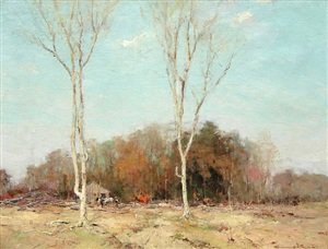 new england landscape by chauncey foster ryder