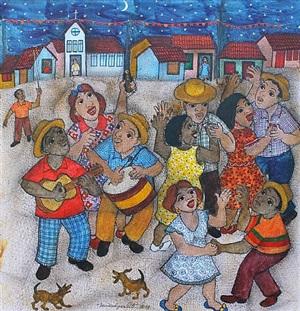 festa de são gonçalo (saint gonçalo's feast) by vanice ayres