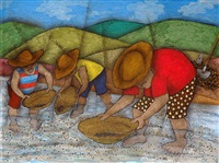 garimpeiros (gold miners) by vanice ayres