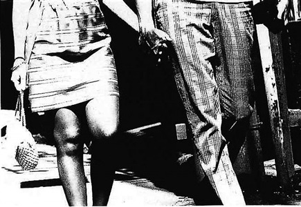 on the road by daido moriyama