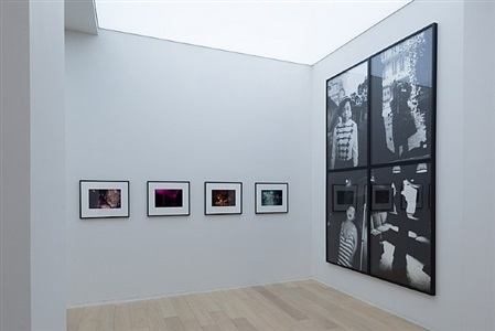 installation view, simon lee gallery, hong kong by daido moriyama