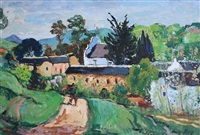 a view of mamre by francois krige