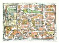 the map of spitalfields life by adam dant