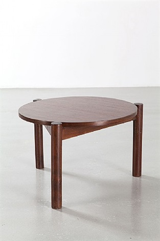 table basse / low table by pierre jeanneret