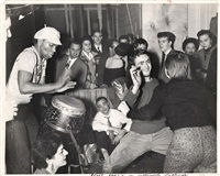 rent party in greenwich by weegee