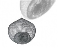 untitled, (s.606, hanging single-lobed five-layer continuous form within a form) by ruth asawa