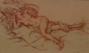 venus by william russell flint